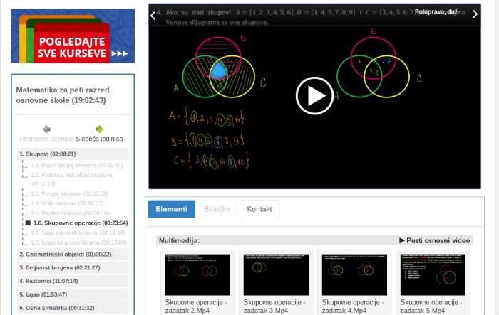 OKmatematika- platforma za učenje matematike